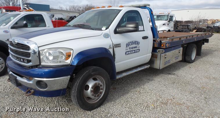2008 Sterling Bullet rollback truck