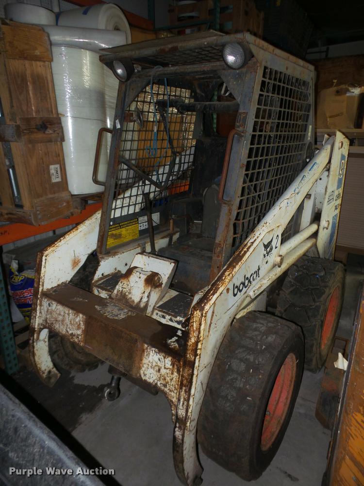 1984 Bobcat 743 skid steer