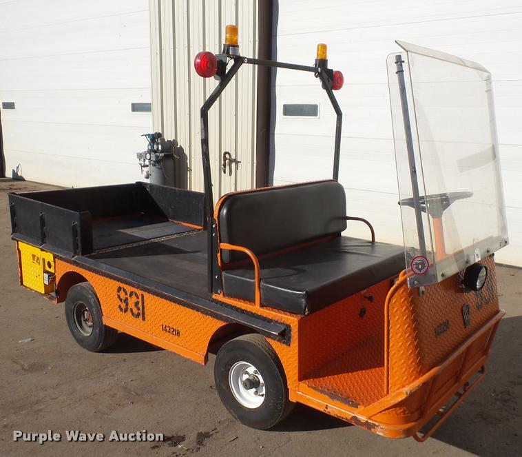 Taylor Dunn warehouse utility vehicle