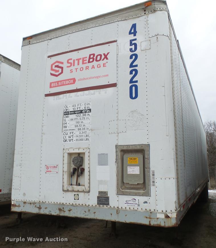 1994 Dorsey SIDT-LS-PB dry van trailer