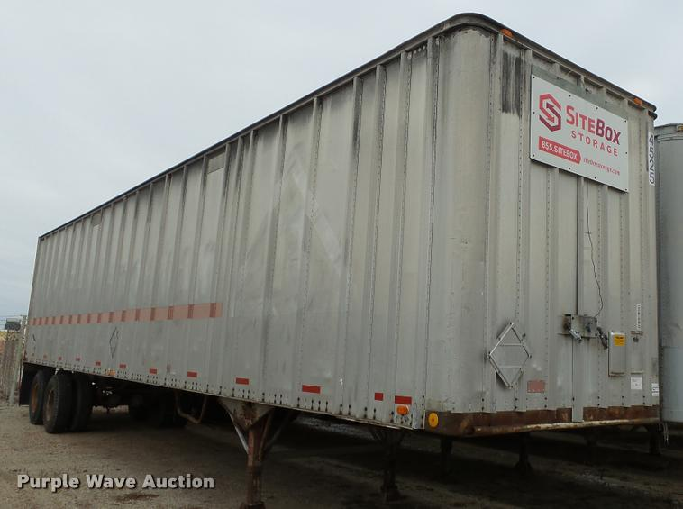 1978 Strick dry van trailer