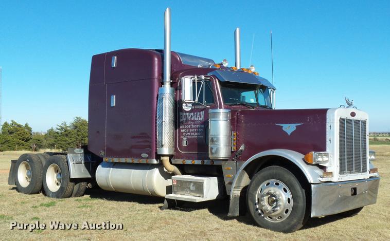 1995 Peterbilt 379 semi truck