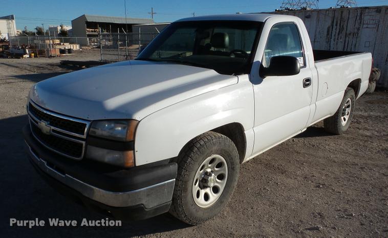 2007 Chevrolet Silverado Classic 1500 pickup truck
