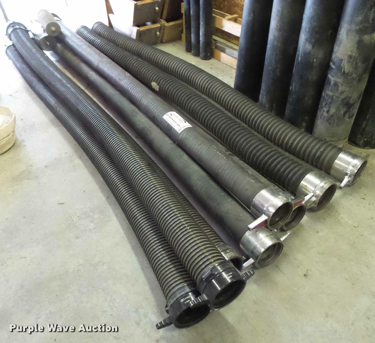 (8) suction hoses