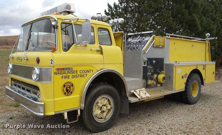 1973 Ford 900 fire truck
