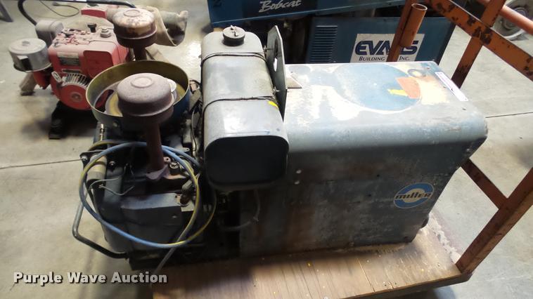 Miller AEAD-200LE arc welder/generator