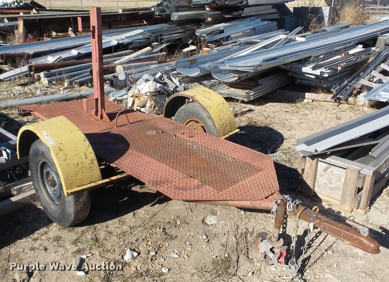 Shop built welding trailer