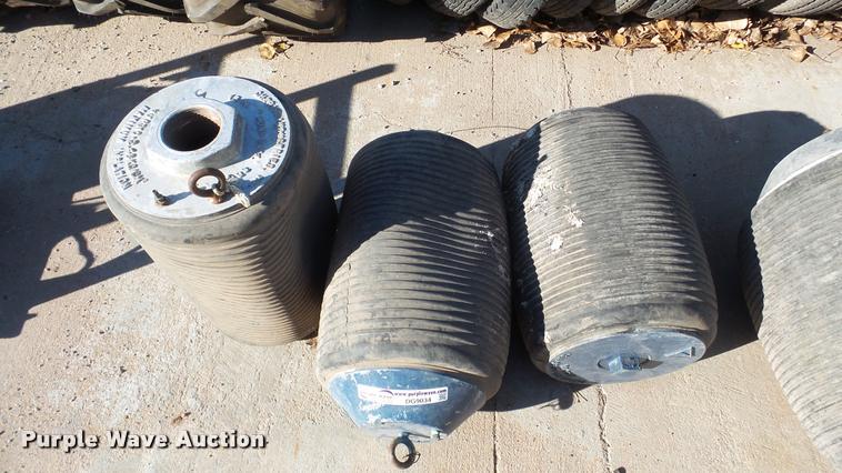 (3) Cherne pneumatic plugs