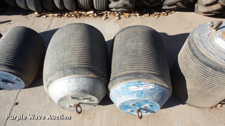 (2) Cherne pneumatic plugs