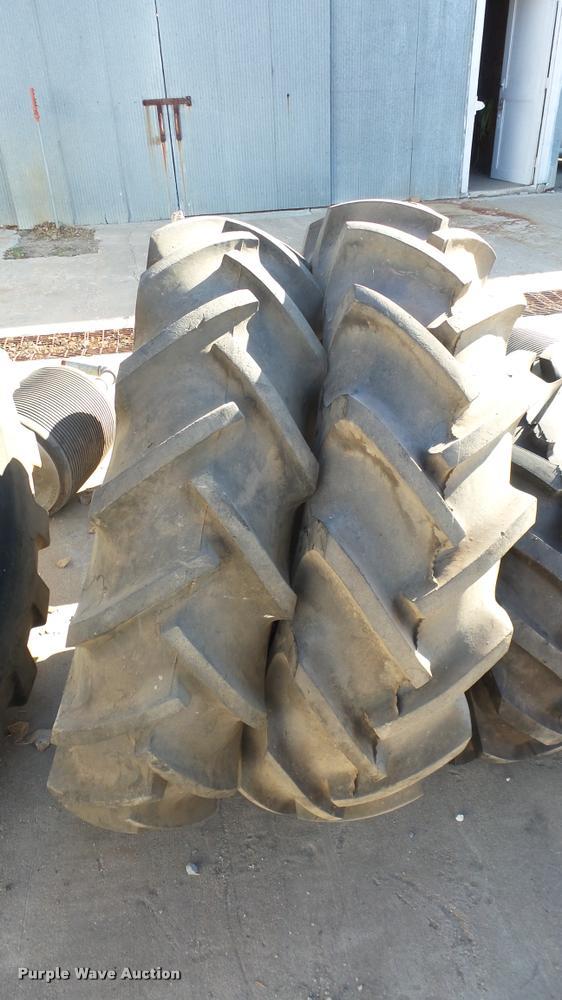 (2) Coop 13.6-28 tires