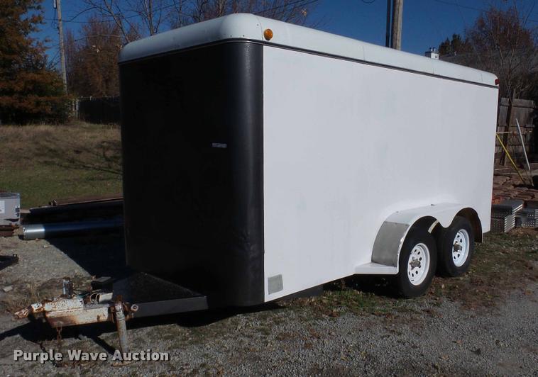 1998 WW enclosed cargo trailer