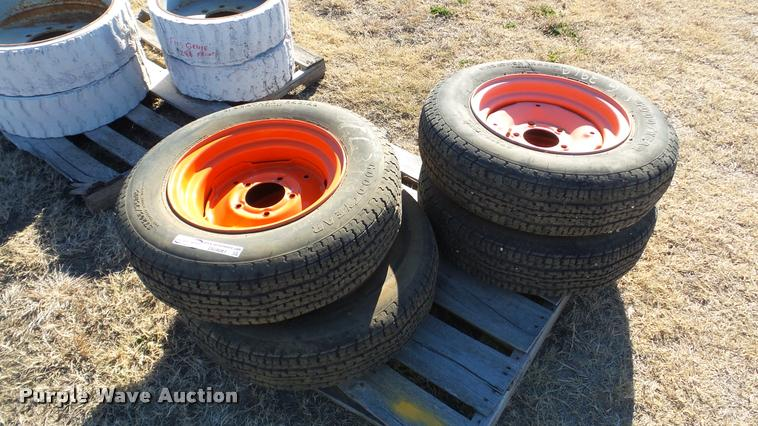 (4) Goodyear tires and wheels