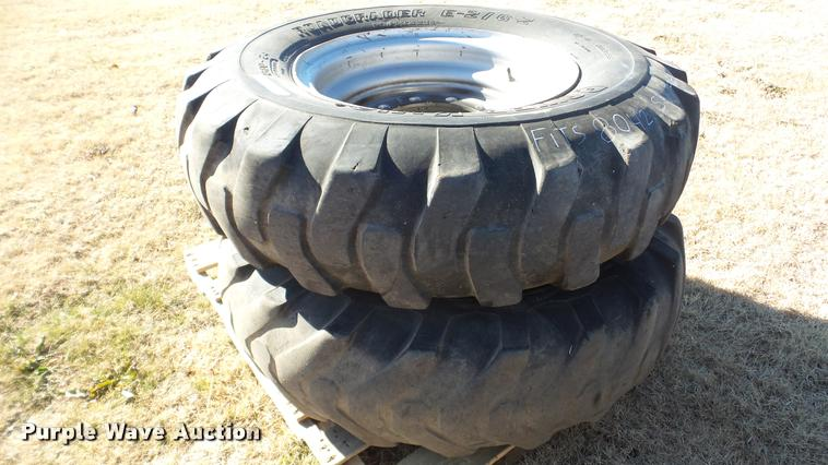 (2) Power King 13.00-24 tires