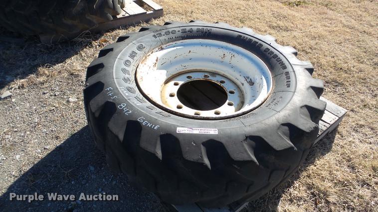 Firestone wheel and tire