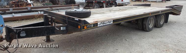 1994 Felling equipment trailer