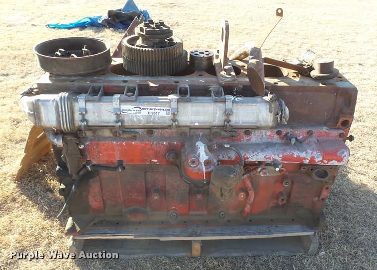 Cummins ISX six cylinder diesel engine