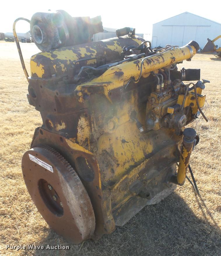 Ford four cylinder diesel engine