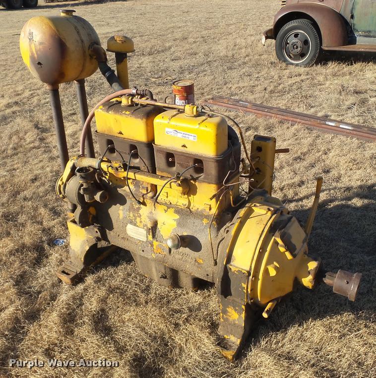 M&M four cylinder gas engine