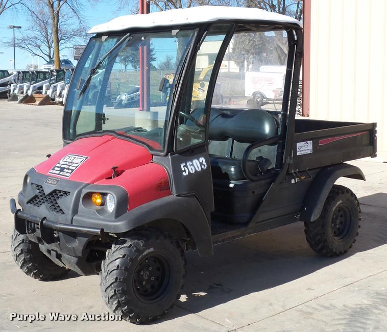 Club Car Intellitrak utility vehicle