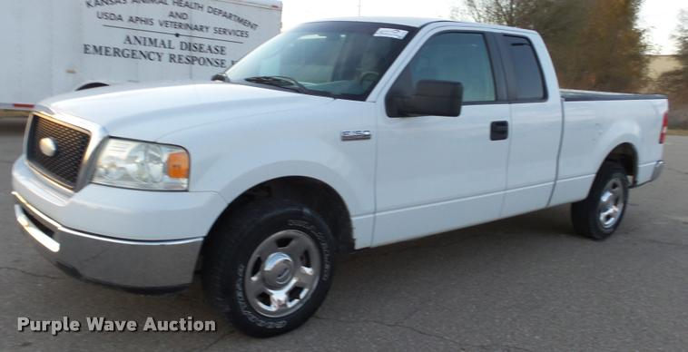 2007 Ford F150 XLT SuperCab pickup truck