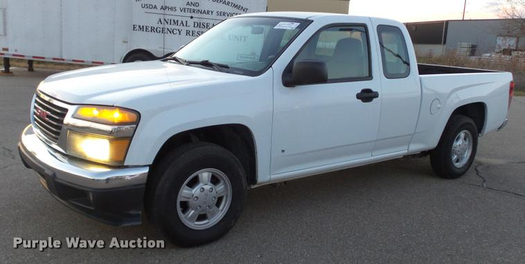 2007 GMC Canyon SL Ext. Cab pickup truck