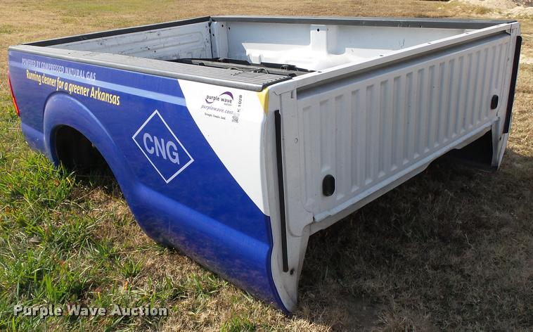 2014 Ford F250 pickup truck bed