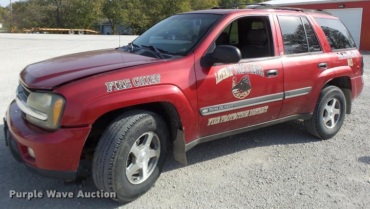 2002 Chevrolet TrailBlazer SUV