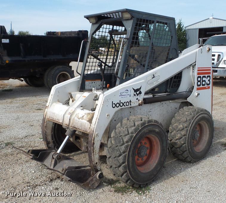 1998 Bobcat 863 skid steer