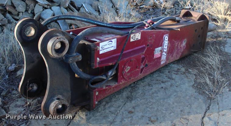2011 Allied 140B hydraulic hammer