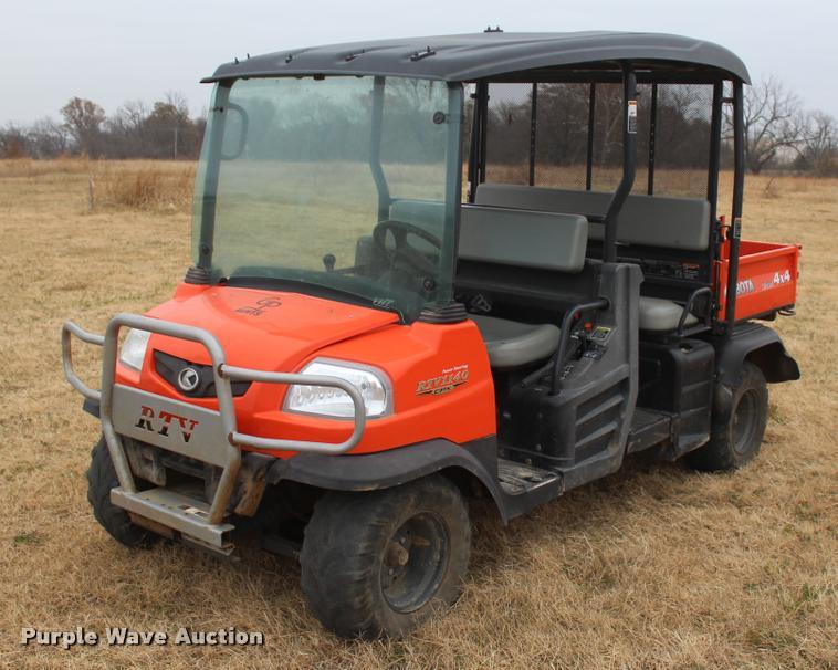 2015 Kubota RTV1140CPX utility vehicle