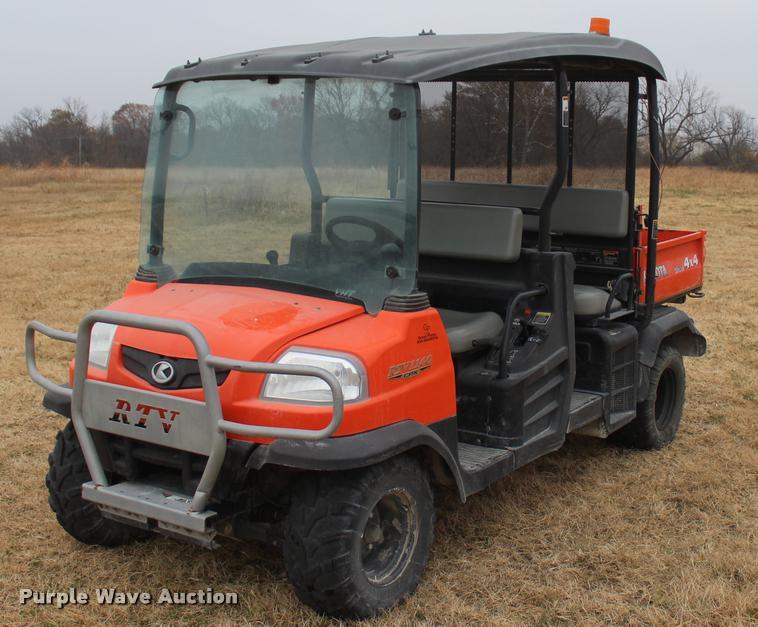 2014 Kubota RTV1140CPX utility vehicle
