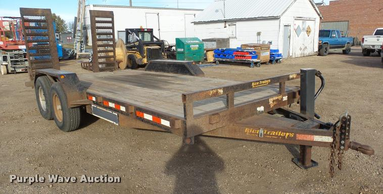 2008 RWMI RTF18H equipment trailer