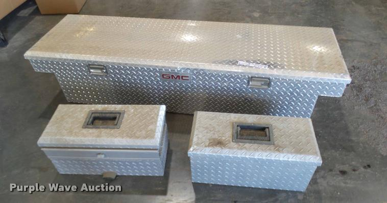 (3) GMC factory toolboxes