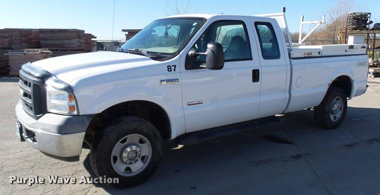 2006 Ford F250 Super Duty SuperCab pickup truck