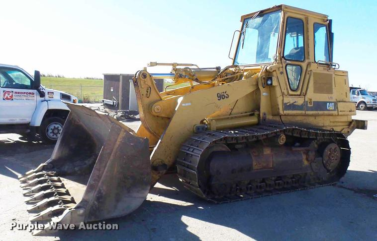 1991 Caterpillar 963 track loader