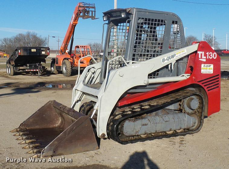 2005 Takeuchi TL130 skid steer