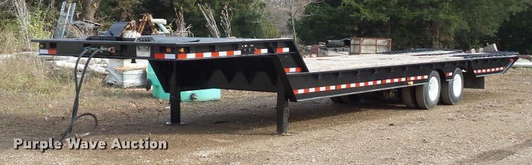 1980 Trail-Eze 5542-1200 equipment trailer