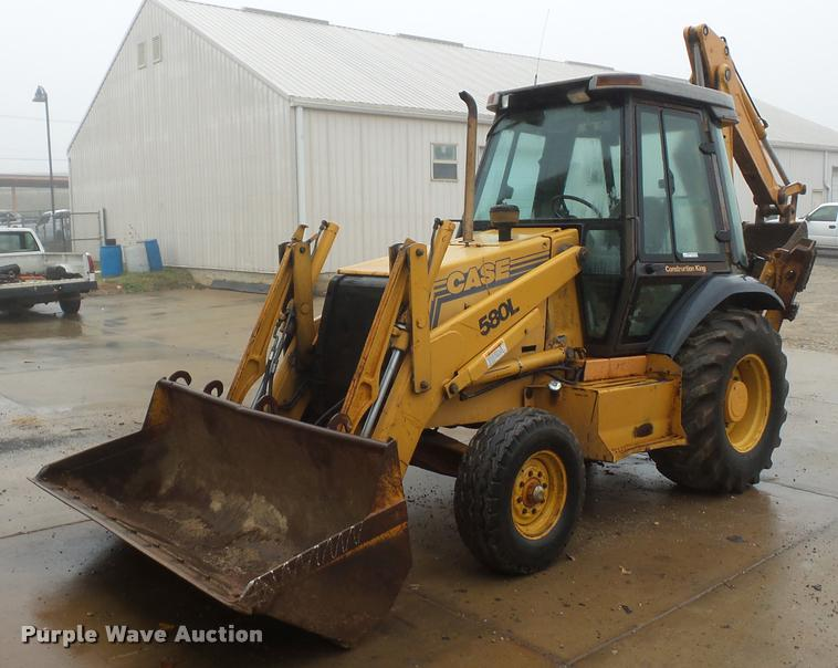 1998 Case 580L backhoe
