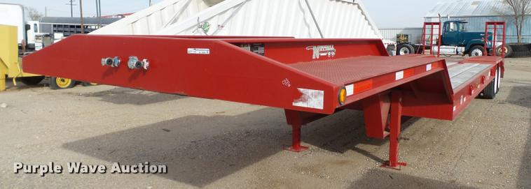 2015 Nuttall 235LB equipment trailer
