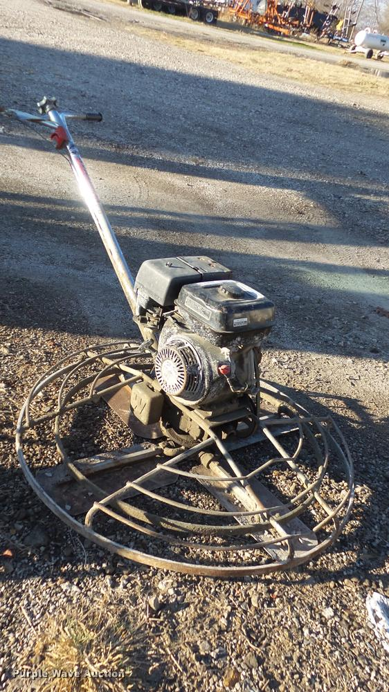 Multiquip Whiteman B-4-5A concrete floor finisher