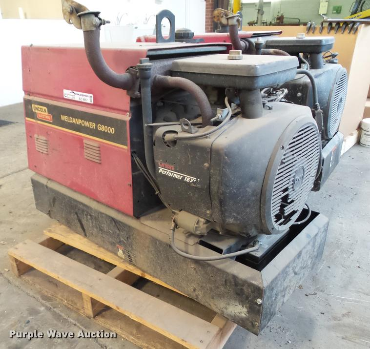 Lincoln Weldanpower WPG8000 welder/generator