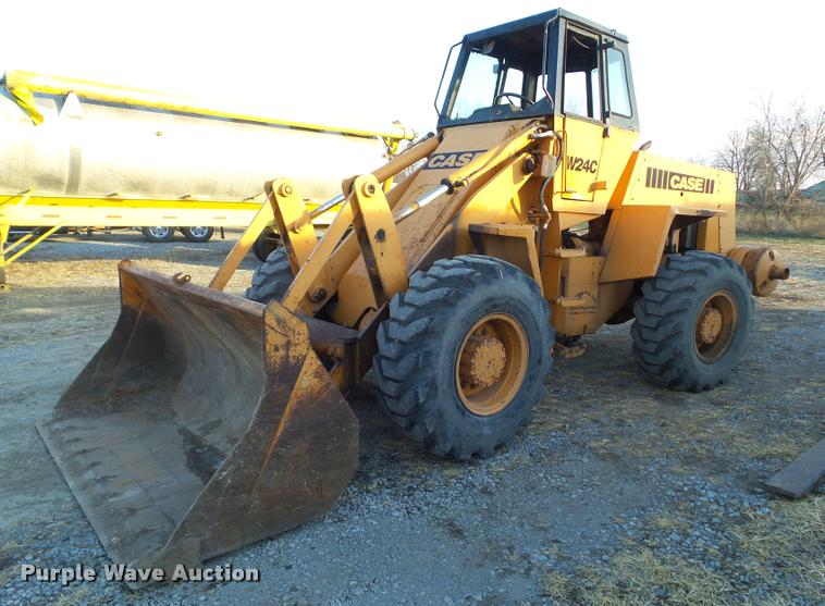 1979 Case W24C wheel loader