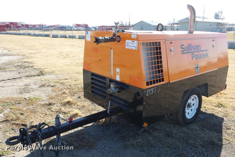 Sullivan Palatek DF375PDJD air compressor