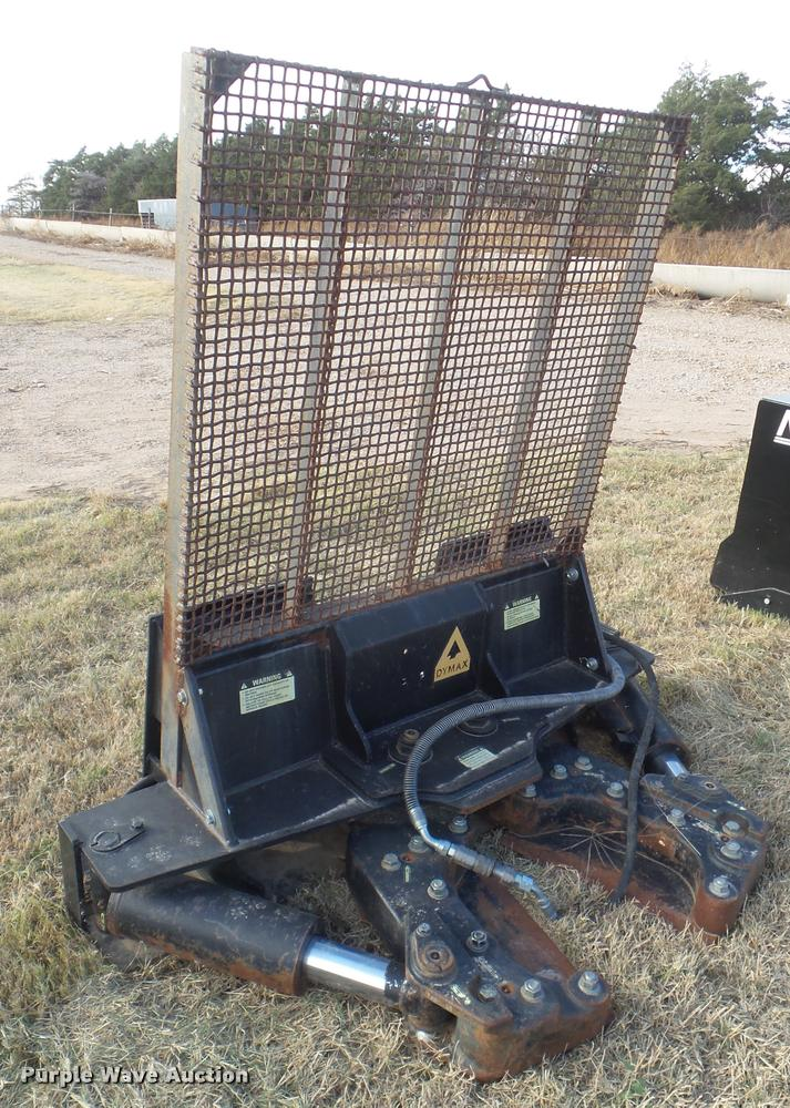 2011 Dymax Ranch Axe skid steer tree shear