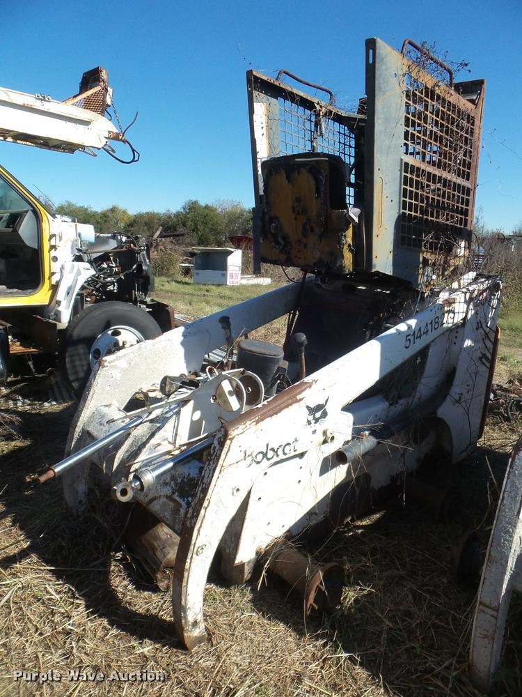 1998 Bobcat 863 skid steer