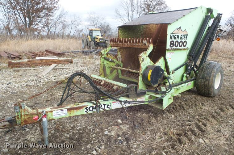 Schulte High Rise 8000 rock picker