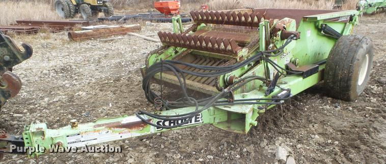 2008 Schulte RS320 Jumbo rock picker