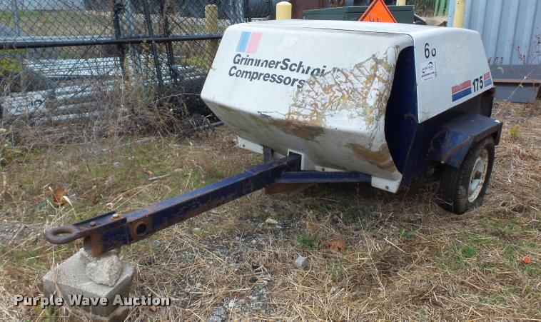 Grimmer Schmidt 175 air compressor
