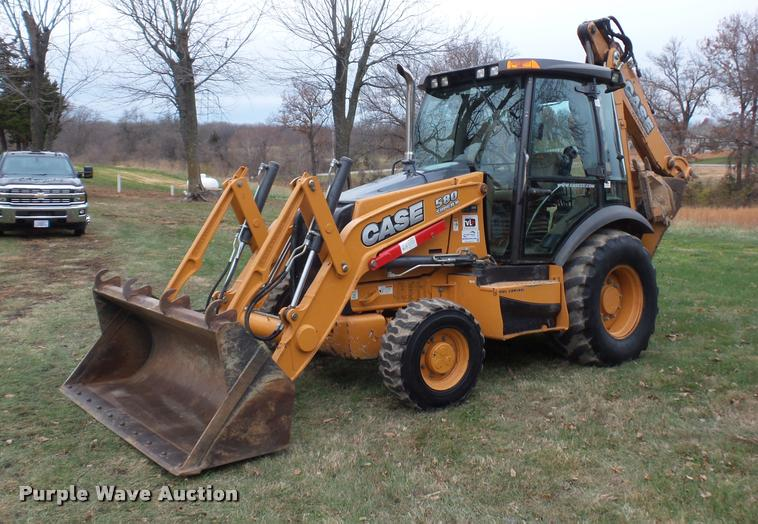 2012 Case 580 Super N backhoe