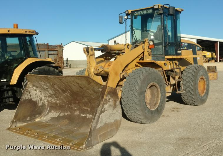 2003 Caterpillar 938G wheel loader